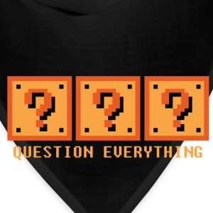 Question Everything Hoodies - Bandana
