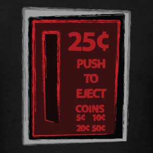 Push To Eject Hoodies - Men's T-Shirt