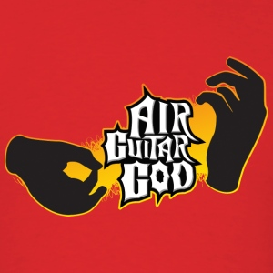 Air Guitar God Hoodies - Men's T-Shirt