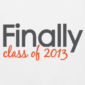 Finally Class of 2013 Grad Hoodies - Men's Premium Tank