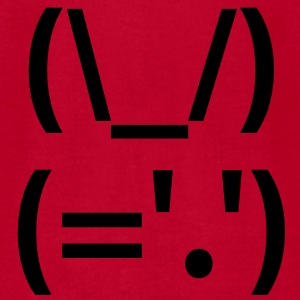 Rabbit Japanese Emoticon Baby & Toddler Shirts - Men's T-Shirt by American Apparel