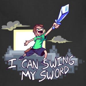 I Can Swing My Sword T-Shirts - Adjustable Apron