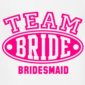 TEAM BRIDE - BRIDESMAID T-Shirt - Adjustable Apron