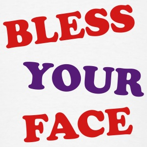 Bless Your Face Hoodies Tobuscus - Men's T-Shirt
