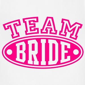 TEAM BRIDE T-Shirt - Adjustable Apron
