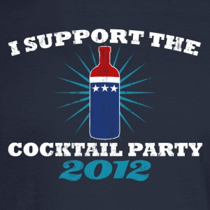 I SUPPORT THE COCKTAIL PARTY 2012 Women's T-Shirts - Men's Long Sleeve T-Shirt
