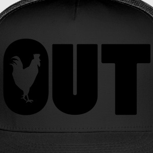 Cock Out T-Shirts - Trucker Cap
