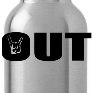 Rock Out T-Shirts - Water Bottle