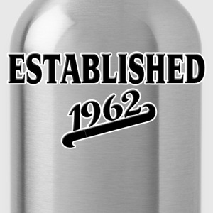 Established 1962 T-Shirts - Water Bottle