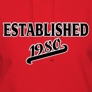 Established 1980 T-Shirts - Women's Hoodie