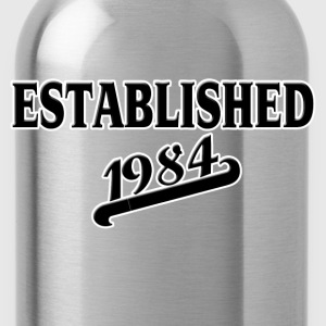 Established 1984 T-Shirts - Water Bottle