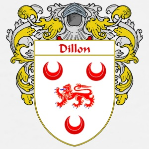 Dillon Coat of Arms/Family Crest - Men's Premium T-Shirt