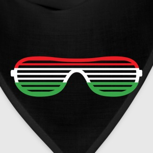 Italy Striped Glasses T-Shirts - Bandana