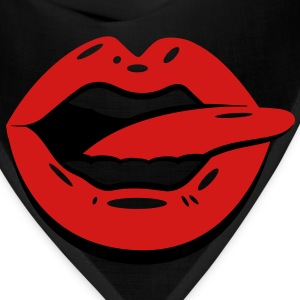 Kiss Lips (2c)++ Hoodies - Bandana