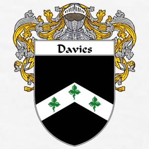 Davies Coat of Arms/Family Crest - Men's T-Shirt