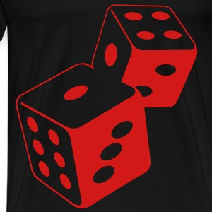 Dice (2c)++ Bags  - Men's Premium T-Shirt