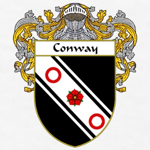 Conway Coat of Arms/Family Crest - Men's T-Shirt