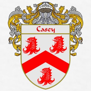 Casey Coat of Arms/Family Crest - Men's T-Shirt