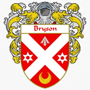 Bryson Coat of Arms/Family Crest - Men's Premium Long Sleeve T-Shirt
