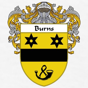 Burns Coat of Arms/Family Crest - Men's T-Shirt
