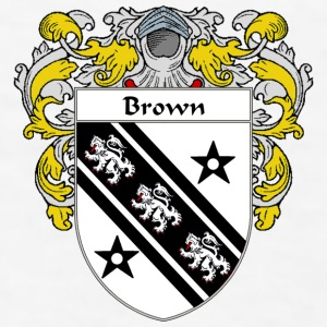 Brown Coat of Arms/Family Crest - Men's T-Shirt