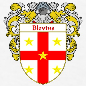 Blevins Coat of Arms/Family Crest - Men's T-Shirt