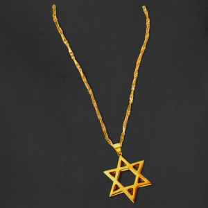 Gold Chain and Star of David - Adjustable Apron