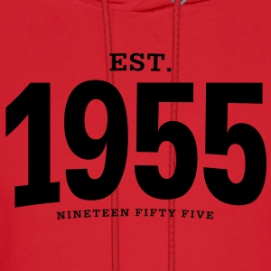 est. 1955 Nineteen Fifty Five - Men's Hoodie