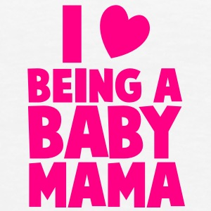 I love heart being a BABY MAMA Accessories - Men's Premium T-Shirt