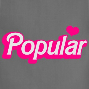 POPULAR! with cute heart funky sexy font Accessories - Adjustable Apron