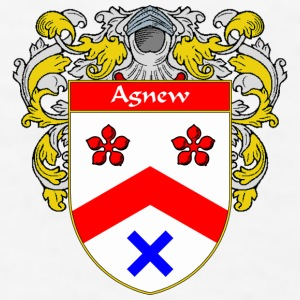 Agnew Coat of Arms/Family Crest - Men's T-Shirt
