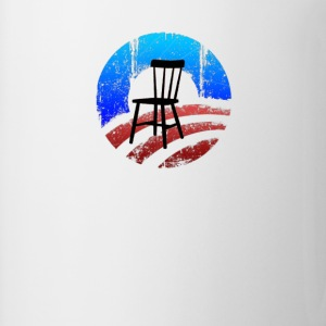 Empty Chair Meme invisible Obama - Coffee/Tea Mug