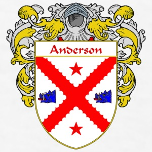 Anderson Coat of Arms/Family Crest - Men's T-Shirt
