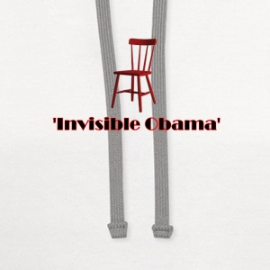 Empty Chair Meme invisible Obama - Contrast Hoodie