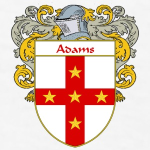 Adams Coat of Arms/Family Crest - Men's T-Shirt