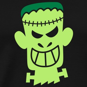 Naughty Halloween Frankenstein Sweatshirts - Men's Premium T-Shirt