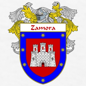 Zamora Coat of Arms/Family Crest - Men's T-Shirt