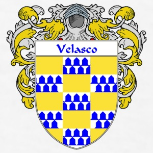 Velasco Coat of Arms/Family Crest - Men's T-Shirt