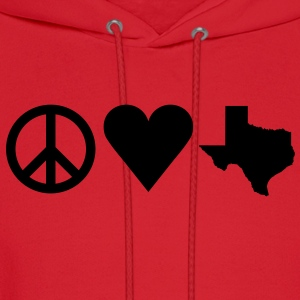 Peace Love Texas Women's T-Shirts - Men's Hoodie