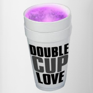 Double cup love. T-Shirts - Coffee/Tea Mug