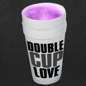 Double cup love. T-Shirts - Tote Bag