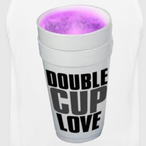 Double cup love. Hoodies - Men's Premium Tank