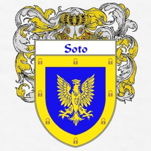 Soto Coat of Arms/Family Crest - Men's T-Shirt