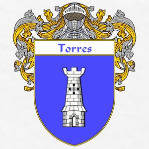 Torres Coat of Arms/Family Crest - Men's T-Shirt