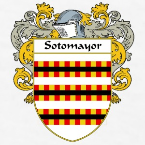 Sotomayor Coat of Arms/Family Crest - Men's T-Shirt
