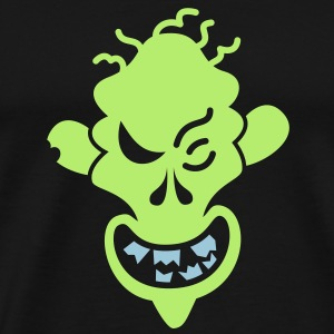 Naughty Halloween Zombie Long Sleeve Shirts - Men's Premium T-Shirt
