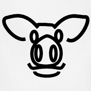 Pig T-Shirts - Adjustable Apron