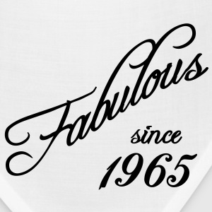 Fabulous since 1965 Women's T-Shirts - Bandana