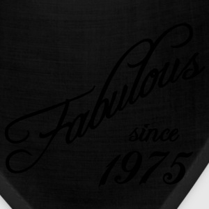 Fabulous since 1975 Women's T-Shirts - Bandana