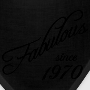 Fabulous since 1970 Women's T-Shirts - Bandana
